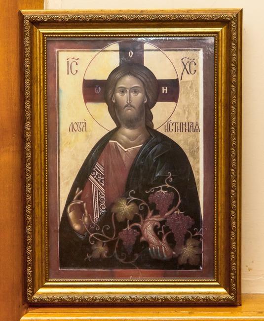 Икона Иисуса Христа Лоза истинная